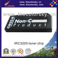 (cz-irc3200t) toner cartridge chip resetter for Canon IRC3200 IRC3220 IRC2620 IRC2660 7629A001AA GPR10 GPR11 BK/C/M/Y