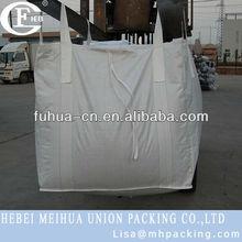 pp woven ton bag for pea coal 1500kg