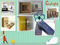 personalizado bonito de luxo packageing de cosméticos