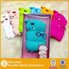 New case Wholesale Animal Silicone phone Case for iphone 5