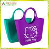 LOGO Printing rubber shopping bag silicone shopping bag