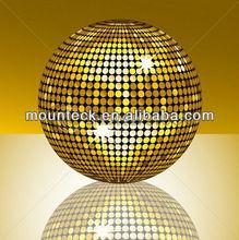 High Quality hot sales!!PVC golden ball handmade christmas tree ornaments /decorating christmas big balls Diameter 60cm