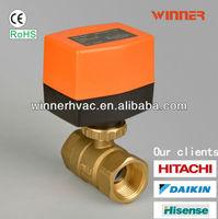 Hvac thermostat electric valve orange actuator 110V dn20