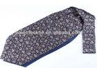 100% Silk Twill Printed Cravat Silk Tie