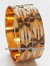 gold bangles models,2012 Glittering Gold plated bangles,gold bangles designs