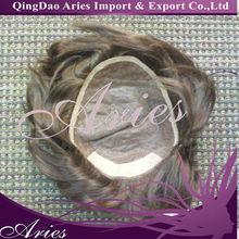 wholesale price best quality lace front 100% virgin european human hair men's toupee