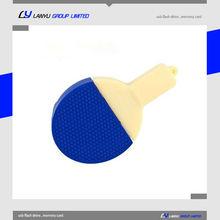Rubber Ping-pong usb driver, your brand name usb pen,usb key 16GB