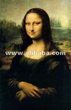 Leonardo Da Vinci Davinci replica paintings, 100% handpainted by skilled artist