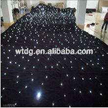 2013 good quality black velvet decorative ceiling/led star cloth2013 good quality black velvet restaurant ceiling decoration de