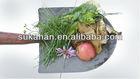 microorganisms fermentation, composting green leaves/ plant trimmings/ fruit or vegetable scraps/ animal waste