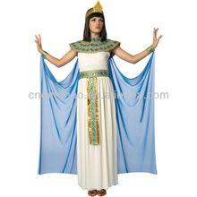 Elegant Halloween Carnival Egyptian Cleopatra Adult Costume