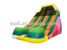 Commercial Inflatable 18ft Dual Lane Slide
