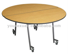 Youkexuan modern folding dining table