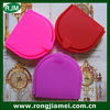 Cheap silicone rubber squeeze coin purse for collecting coin change