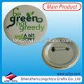 20mm 40mm 58mm baratos diversos regalos promocionales de papel placa pin botón insignias