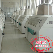 500T/24H maize milling line in South Africa corn flour mills maize milling equipments