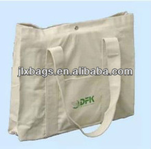 custom folding recyclable cotton shopping bag