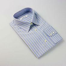 2015 fashion style long sleeve men striped polo shirt