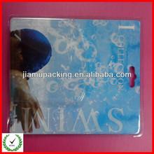 2013 hot popular transparent sliding card double blister packing