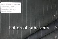 Suiting 100% wool machine washable fabrics