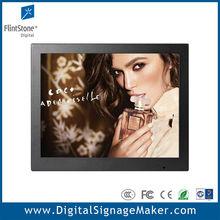 "15"" touch lcd digital scrolling advertising billboard"