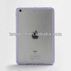 2013 Worldwide wholesale TPU+PC bumper case for iPad Mini