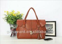 Guangzhou factory export PU leather woman handbag B1324027