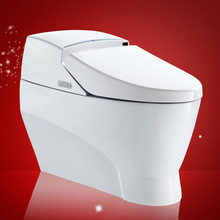 2013 Hot Sale One Piece Siphon Toilet Electronic Bathroom Retail