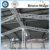 Aluminium arched roof trusses,triangular roof trusses for our door