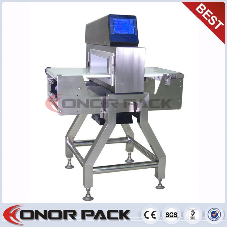 Iso9001 detector de metales para la industria alimentaria( carne de metal máquina de detección de, alimentos detector de metales)