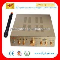 karaoke amplifier reverb YT-9100 with wireless microphone