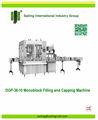 Dgp-36-10 monobloco de enchimento e máquina tampando