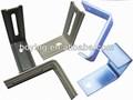 diferentes tipos de metal que estampa piezas de flexión