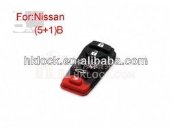 remote rubber for Nissan auto remote button rubber 6 buttons Auto key