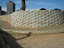 Rockface Retaining Wall
