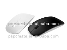 White /Black color of 2.4 G Flat wireless mouse/mice with PMS /OEM /ODM accept