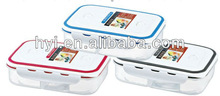 rectangle transparent lunch box