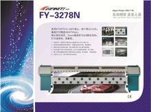 Infiniti/Challenger/Phaeton Large Format Flex Banner Plotter, Digital Solvent Printer FY-3278N, with 8 Seiko SPT510/50pl head