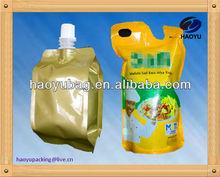 custom design ok plastic cooking oil bag