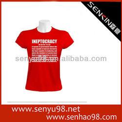 Cotton O Neck Basic T-shirts Customized OEM Factory