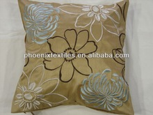 embroidery silk cushion cover wholesale