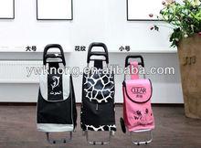 Grocery shopping trolley,shopping cart foldable bag,portable trolley shopping bags