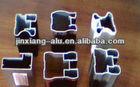 6063 high quality extrusion/powder coating/matting aluminum kitchen/wardrobe profiles