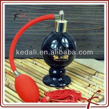 black glaze decal ceramic value of old avon perfume bottles