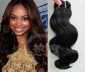 Genuino extensión del pelo brasileño crudo, 5a unproessed brasileño de la onda del cuerpo del pelo, Aspecto natural brasileño peluca de cabello humano