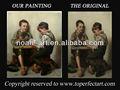 Sıcak- satış Bebek yağı ressamlığı Noah sanatı