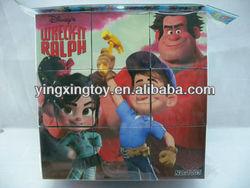 kid education toy 3D plastic cube puzzle