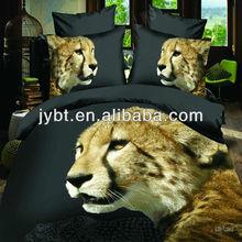 3D animal printed bedding set,popular bed set