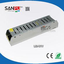 60W good quality 12v 5a 100-240v dc regulated power supply