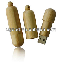 Natural wooden usb thumb drive,hot sale Wooden Round Promotional USB Thumb Drive